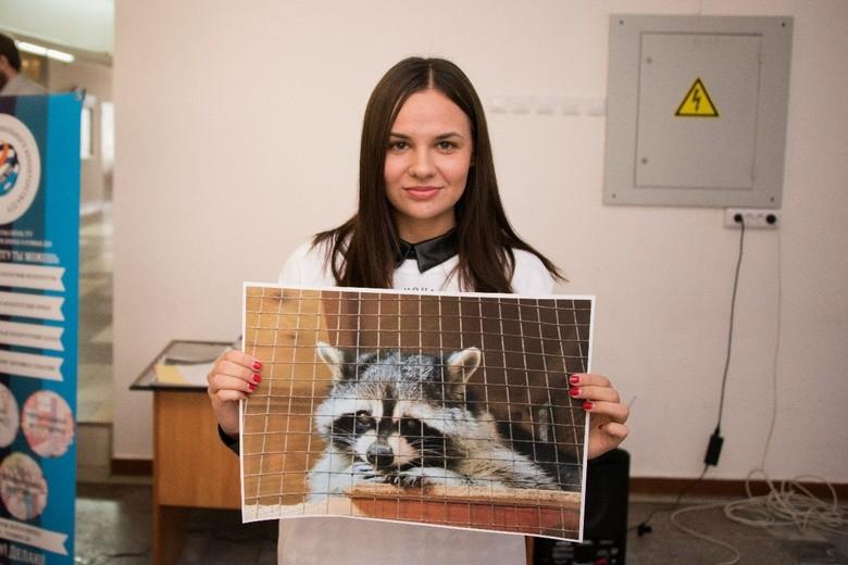 Енот Фиона и студентка ТГУ